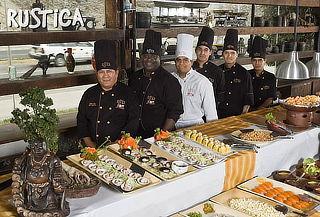 Almuerzo BUFFET Internacional en Rustica Costa Verde