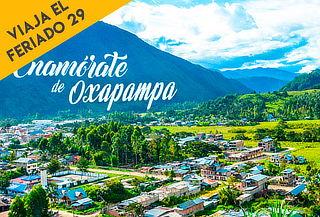 ¡Selva Central del 28 de Junio al 1 de Julio! Oxapampa + Bus