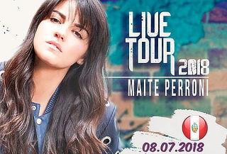 No te lo Pierdas ¡Live Tour 2018! Maite Perroni en Perú