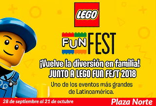 ULTIMOS DIAS para LEGO® Fun Fest 2018. TODOS LOS DIAS