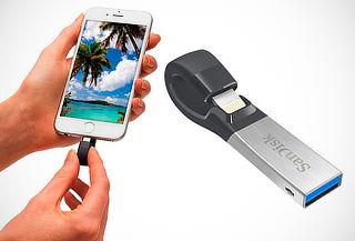Memoria USB para iPhone marca Sandisk de 32, 64 o 128 GB