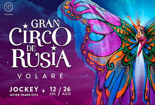 Entrada para el Gran Circo de Rusia - 17 Agosto / 8pm