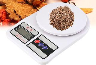 ¡Diseño Elegante! Balanza Digital de Cocina 1gr a 7kg