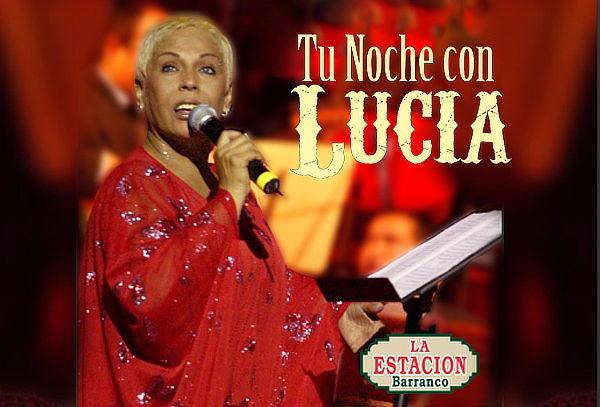 ¡Tu Noche con Lucía de la Cruz en La Estación de Barranco!