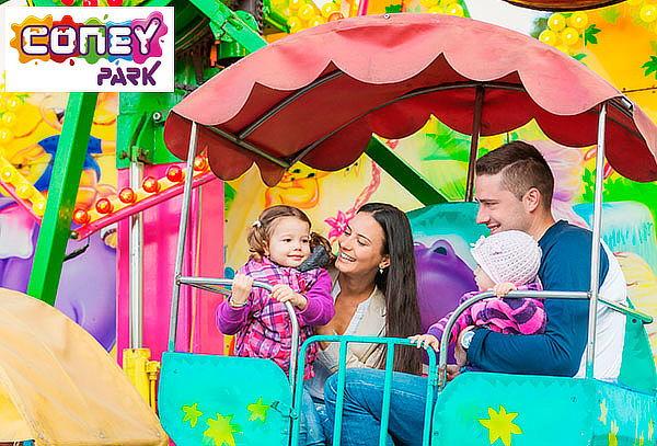 ¡Disfruta en Familia! en CONEY PARK - Elige Sede
