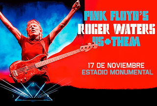 Gran Concierto de Pink Floyd's Roger Waters en Us+Them Tour