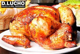 Pollo a la Leña + Papas Fritas + Gaseosa 1.5 LT y Más