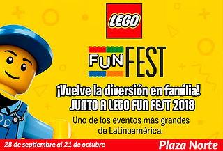 ÚLTIMOS DÍAS - FIN DE SEMANA LEGO® Fun Fest 2018