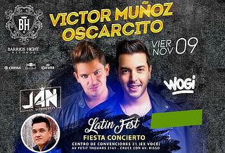 SOLO X HOY  ¡Victor Muñoz y Oscarcito! Este 09 de Noviembre