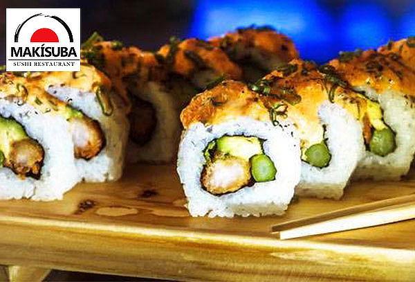 Barra Libre de Makis + Bebida Ilimitada Makisuba Sushi Surco