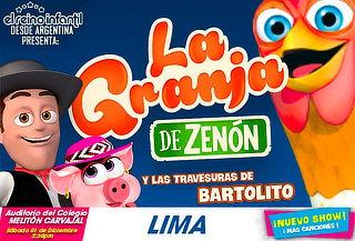 ¡La Granja de Zenón y las Travesuras de Bartolito en Lima!