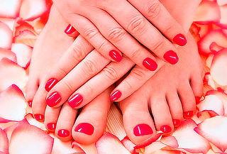 Manicure y Pedicure + Exfoliacion en Glamour Salón & Nails