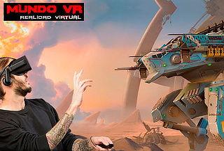 ¡Juego de realidad Virtual en Mundo VR Miraflores!
