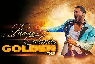 ¡Golden Tour! Entrada  a Concierto de Romeo Santos