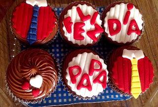 6, 12 o 24 Cupcakes Temáticos para Decorados en Fondant