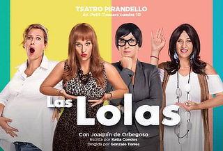 LAS LOLAS: en el Teatro Luiggi Pirandello