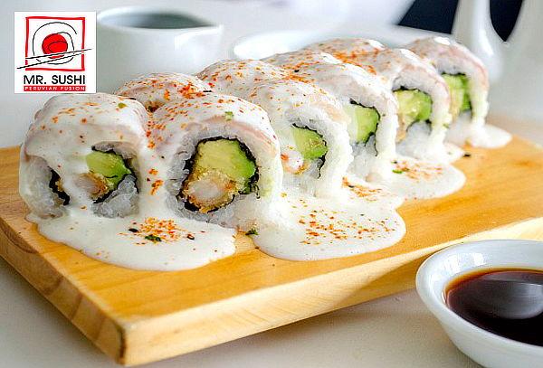 POR SAN VALENTIN,  3 Tablas+1 Gaseosa a Elección en Mr Sushi
