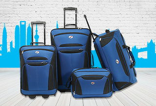 Set de 4 Piezas AT New Bari by Samsonite
