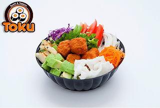 1 Poke Bowl+1 Té verde frutado de 8 oz en TOKU SUSHI by EDO