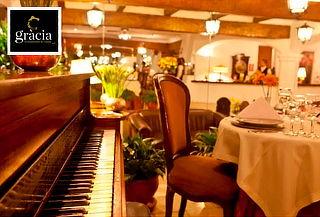 ¡San Valentín! Cena Romántica para 2 con Piano en Vivo