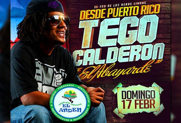 ¡TEGO CALDERÓN en el Andén + 6 Piscinas + Toboganes!