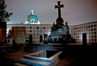 ¡Tour Nocturno! Cementerio Presbítero Maestro