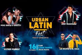 ¡Urban Latin Fest! Entrada General al Evento el 16 de Marzo