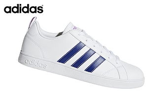 36dbe8ea Zapatilla Adidas Vs Advantage Para Dama - Blanco y Lila