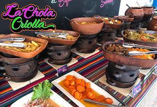 ¡La Chola Criolla! Entrada + Almuerzo Buffet y Postre