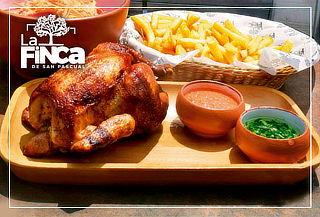 2x1 - All You Can Eat! Pollo a la Brasa + Papas Fritas y Más