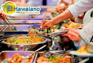 ¡El Hawaiano Buffet! Válido Fines de Semana