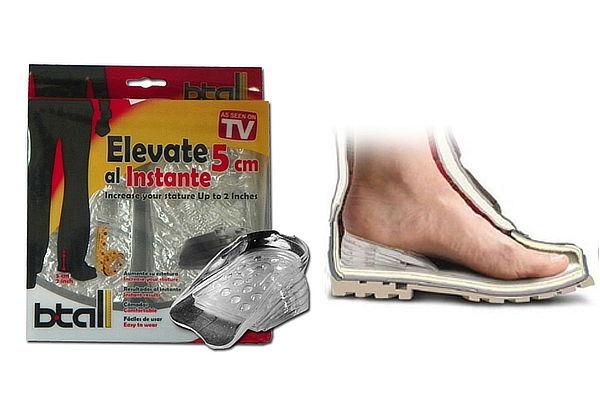 """de727eb67e Paga S  34.90 en vez de S  60.00 por """"Plantillas Elevadoras - Elevate Shoes  5cm Unisex"""
