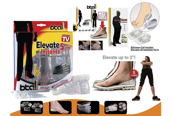 "148e4c41af ... ""Plantillas Elevadoras - Elevate Shoes 5cm Unisex"