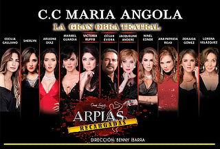 ¡Gran Obra Teatral ARPÍAS con Actrices Mexicanas de Lujo!