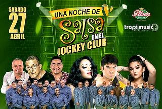 ¡NO TE PIERDAS! UNA NOCHE DE SALSA EN EL JOCKEY