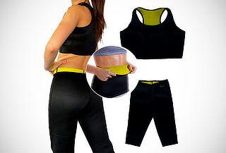 ¡Lucete! Kit de Ropa Deportiva (Top + Faja + Pantaloneta)