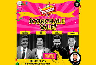 "¡Humor para 02! Show ""Cónchale Vale"""