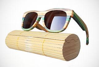 39b674a801 ¡Gafas de Sol de Bambú! HIP STORE