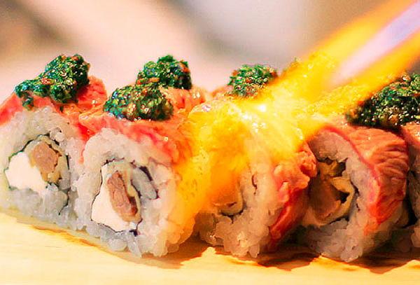¡BARRA LIBRE! 70 variedades de makis y mas en NORI SUSHI BAR