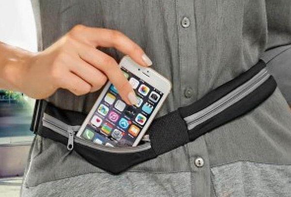 d3904e6dfedf Cinturón Canguro Expandible – Doble Compartimiento