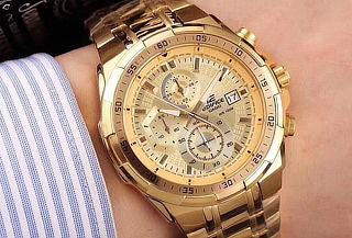 ¡Elegante! Reloj CASIO Edifice