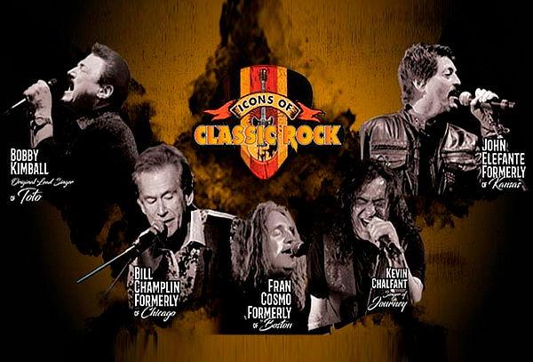 ICONS OF CLASSIC ROCK - Este 13 de junio en el Plaza Arena