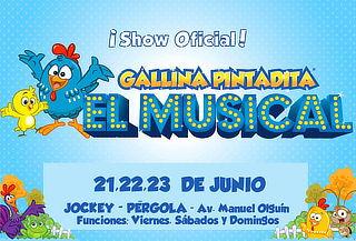 ¡Show Oficial de la Gallina Pintadita! Llega al Perú