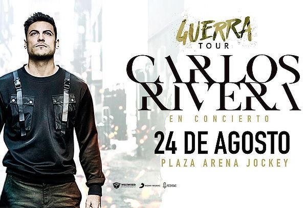 ¡Por Primera vez en el Perú! Carlos Rivera - Guerra Tour