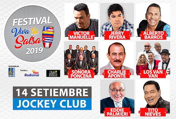 ¡Festival de la Salsa! Jerry Rivera, Victor Manuel y Mas