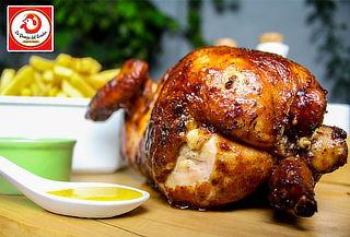 ¡Promo Familiar! 02 Pollos a la brasa + Papas + Ensalada