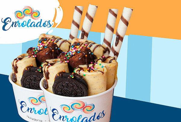 ¡Disfruta! 02 Helados Fritos Extremos y Más en Enrolados!!