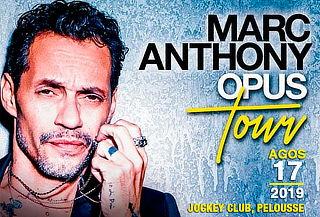 ¡No te lo Pierdas! Marc Anthony en Concierto Opus Tour