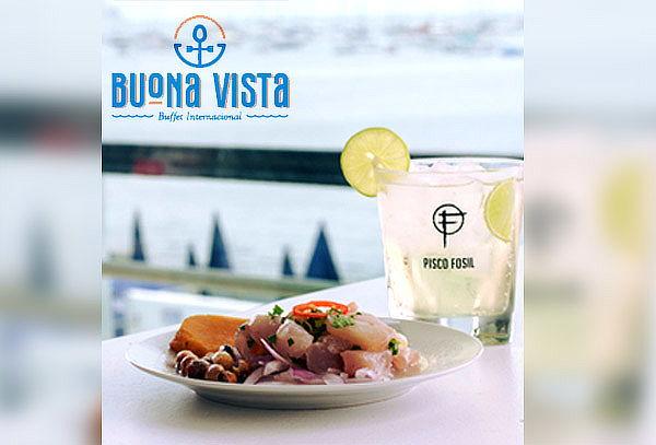 ¡Buffet Internacional y Criollo en Buona Vista!