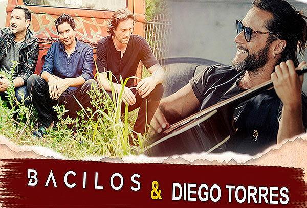 Bacilos & Diego Torres ¡EN VIVO! - Elige Zona